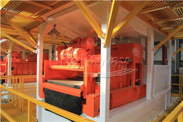 Shale Shaker in Tunnel Boring Machine Mud System