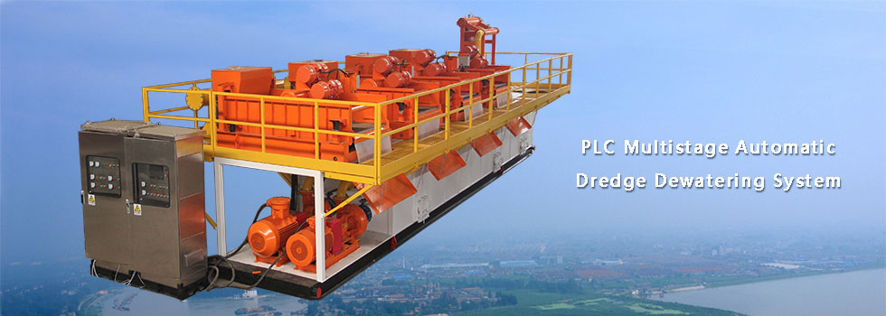 Multistage Automatic Dredge Dewatering System